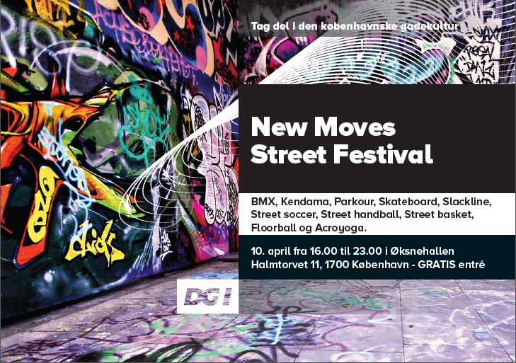 New Moves Street Festival flyer